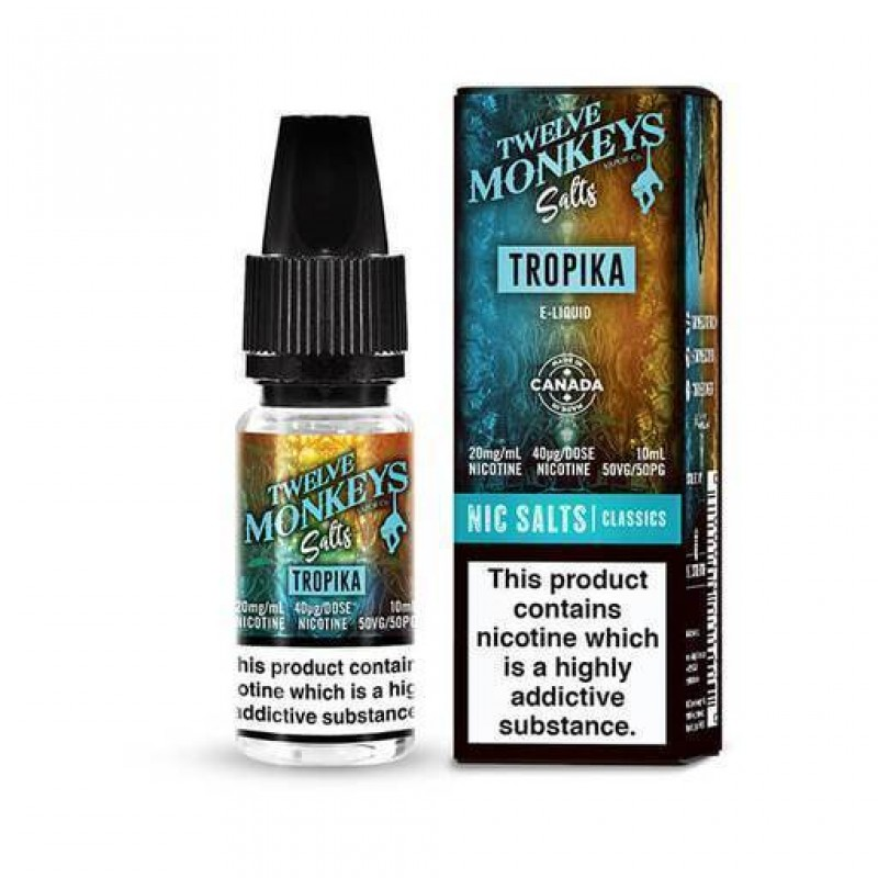 Twelve Monkeys Nic Salt Tropika E-Liquid