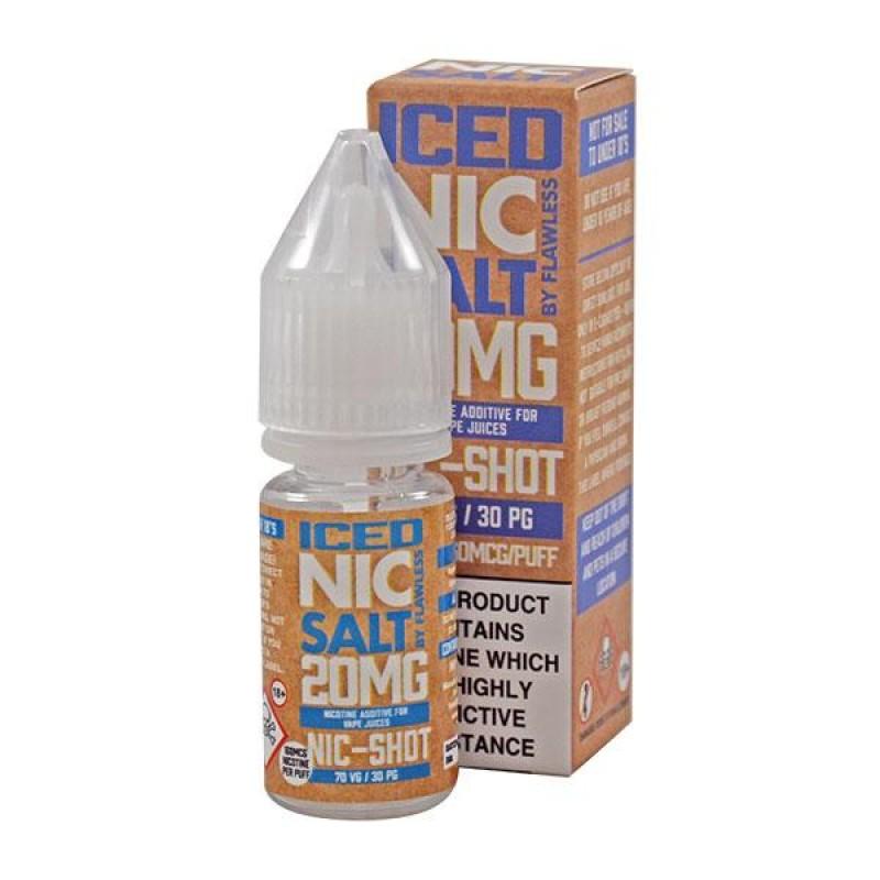 Flawless Iced Nic Salt Shot