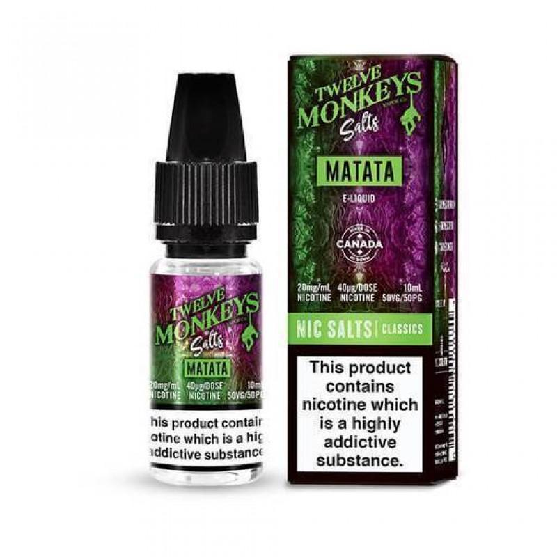 Twelve Monkeys Nic Salt Matata E-Liquid
