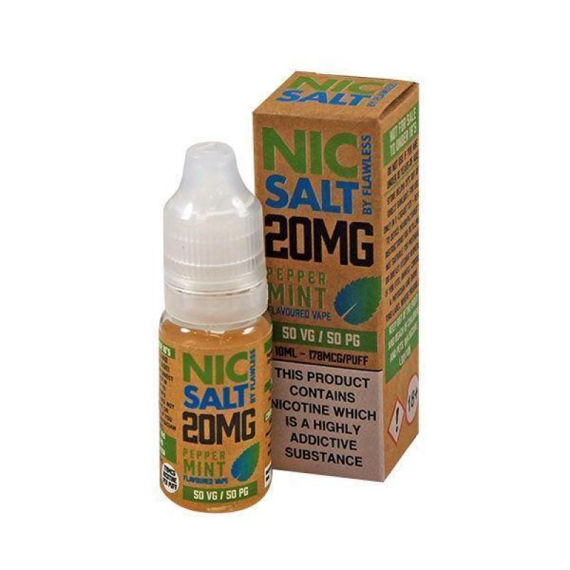 Flawless Nic Salt Peppermint